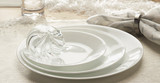 Corelle Winter Frost White 12pc Lightweight Dinner Plate Set for Picnics and Home