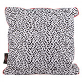 Tribal Fusion Double-sided Spot/Floral Cushion for Picnics