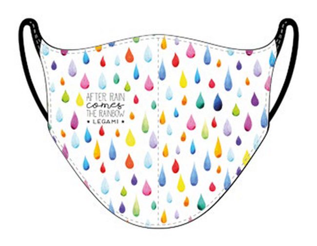 Italian-designed Re-usable Face Cover with Anti-droplet treatment