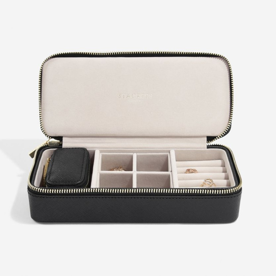 Stackers Zipped Travel Jewellery Case  - Large
