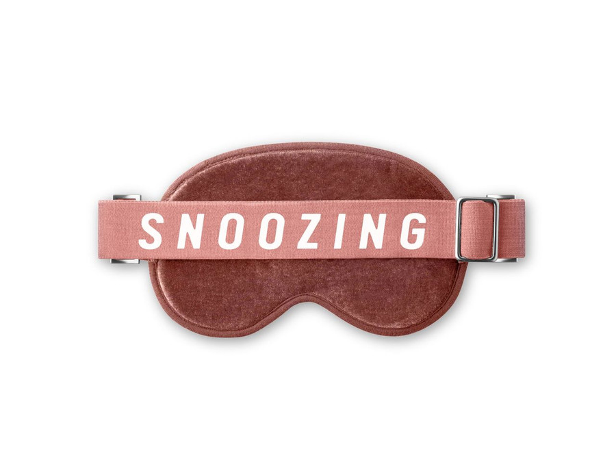 Travel Sleep Eye Covering with Text