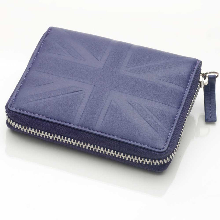 Britannia Leather Zip Purse