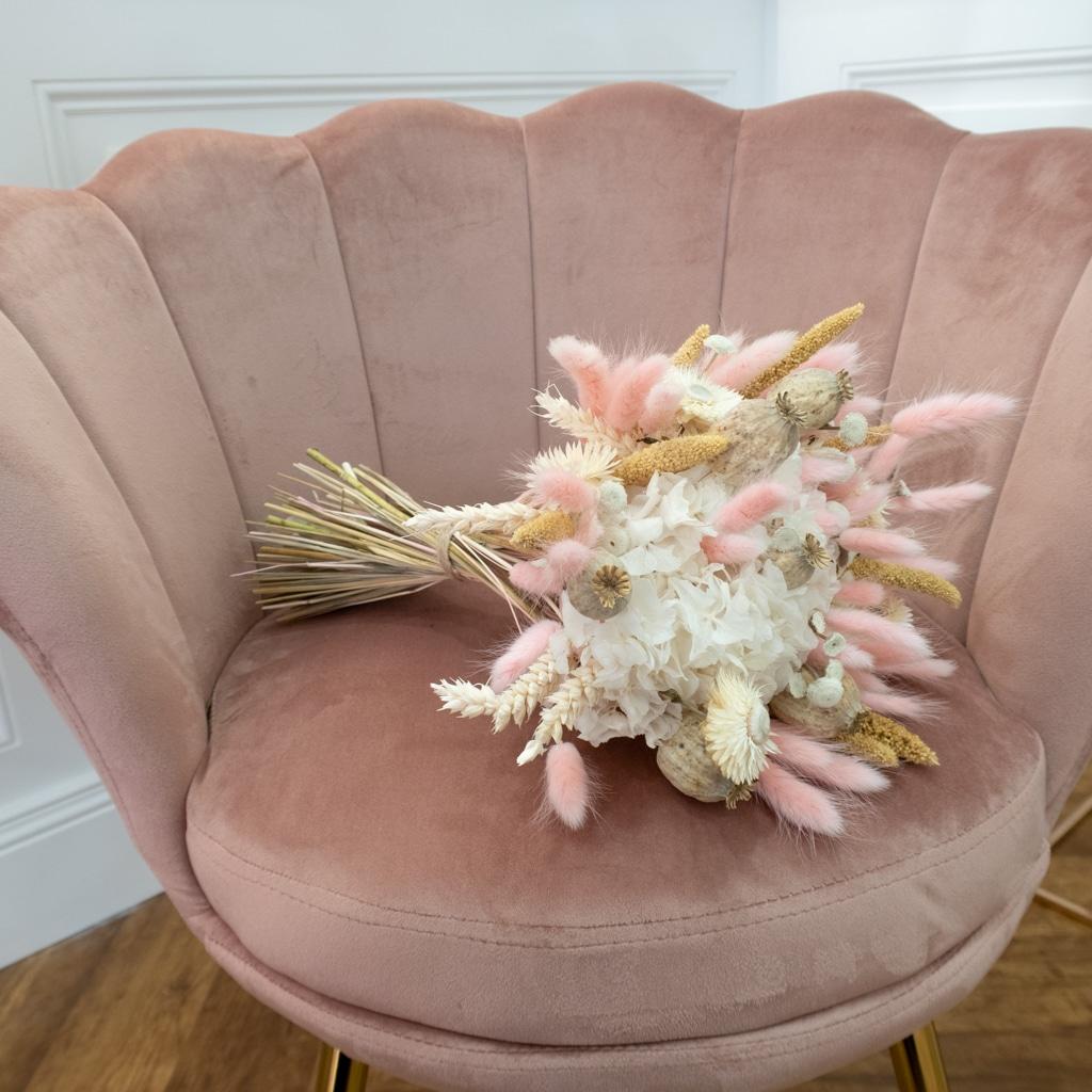 Image bouquet de fleurs séchées