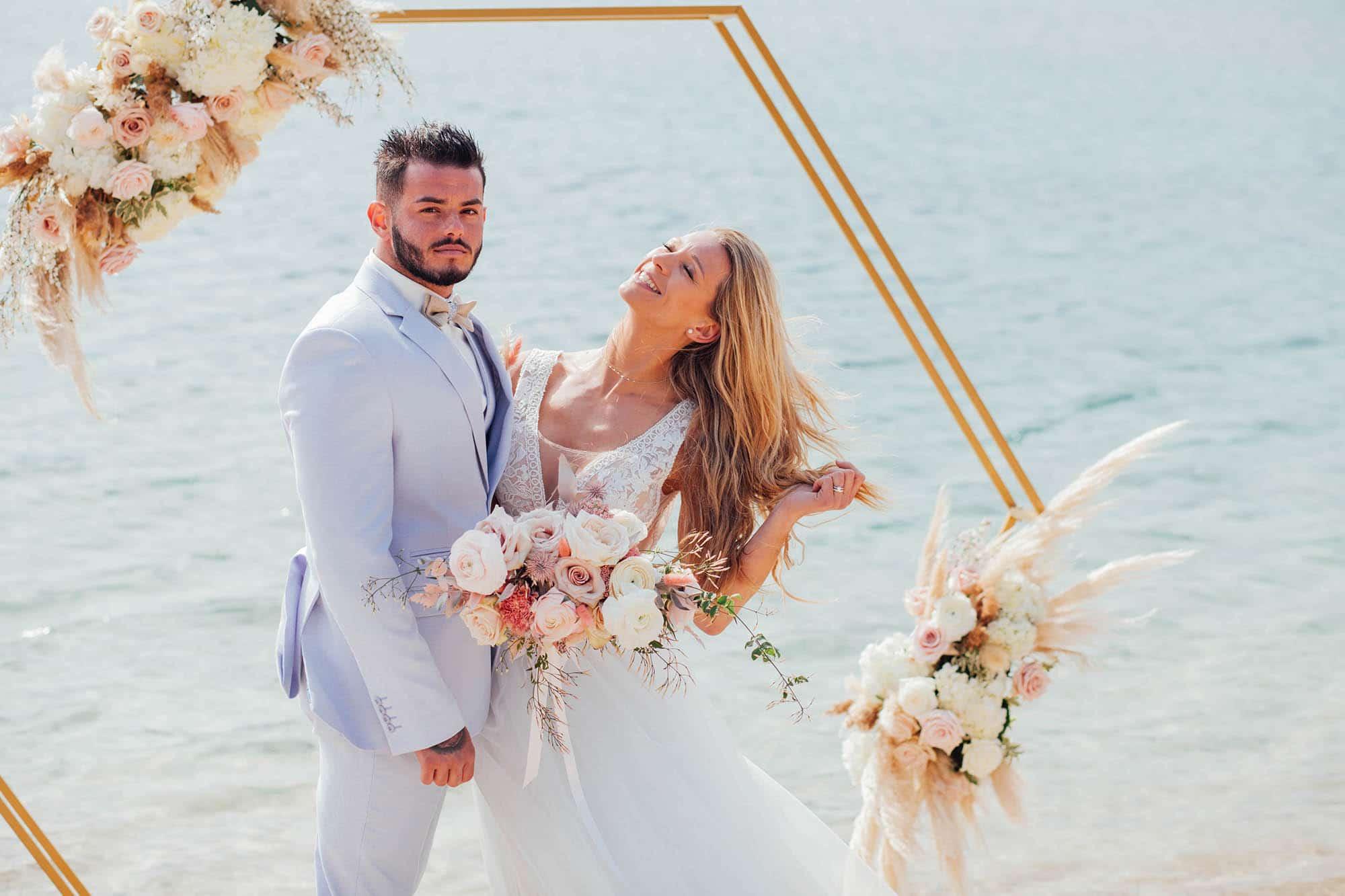 décoration florale mariage fleurs séchées