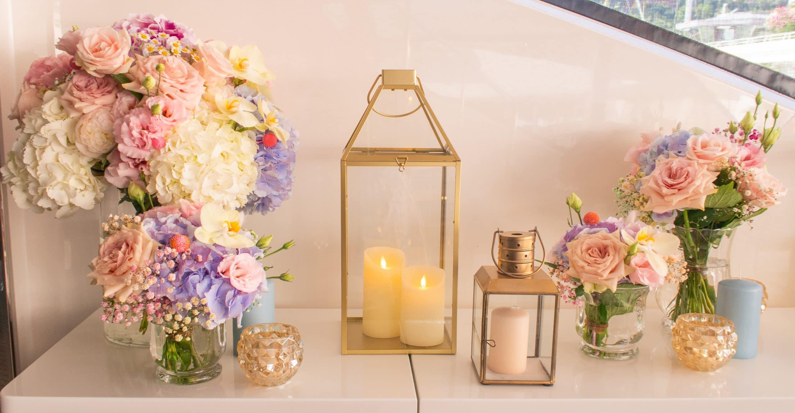 Image bouquet de fleurs fraiches