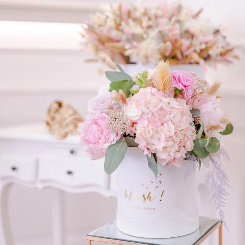 Bouquet de fleurs fraiche Mona idéal pour la fête des mères aux couleurs pastel