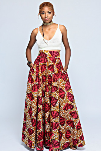 Adaobi Full Flared Skirt