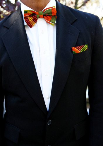 Kente Bow Tie SET