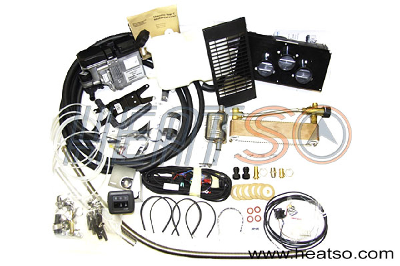 Webasto Thermo Top C300 RV / Camper Hot Water Heating Kit on