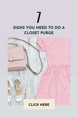 7 Signs You Need to Do a Closet Purge
