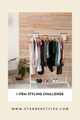 One Item 5 Ways Styling Challenge