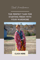 How to Start Fresh with Your Wardrobe