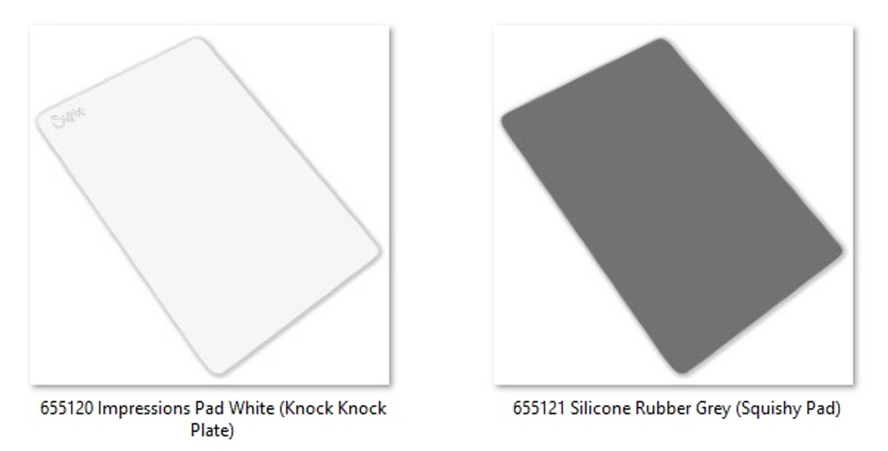 Sizzix Bigkick//Big Shot//Vagabond Texturz Impressions Pad 655120