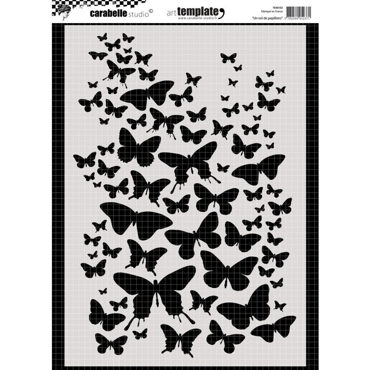 24b9b4fad3 Carabelle Studio Template A4 - Flight Of The Butterflies ...