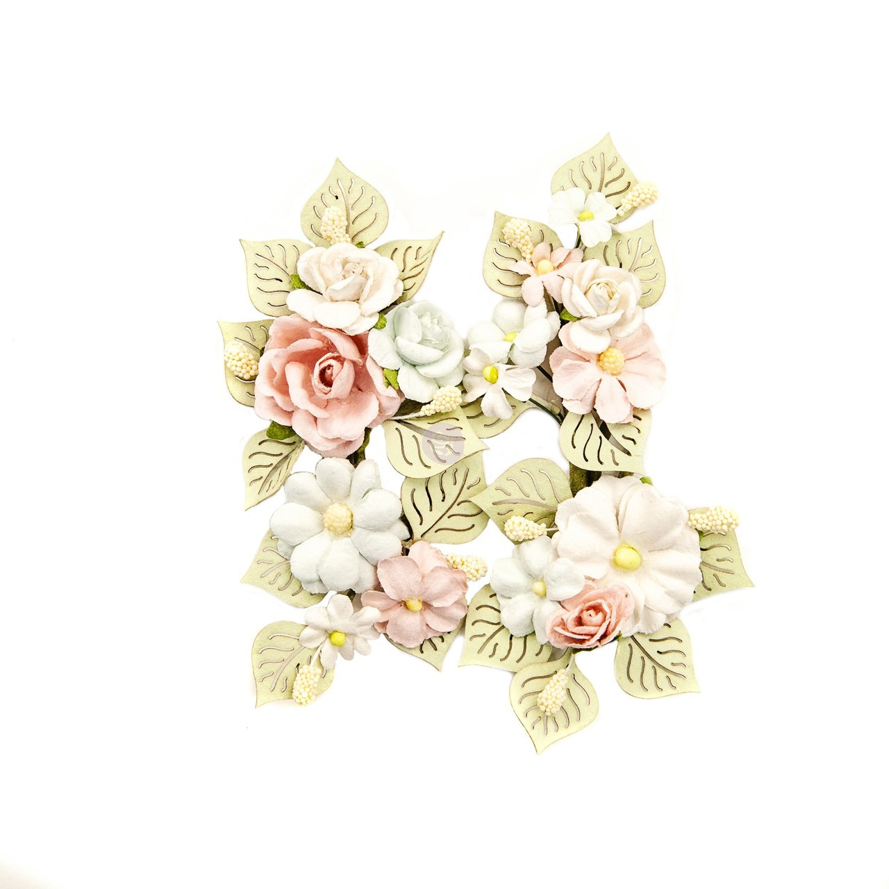 Kaisercraft Wooden Flourishes Rose And Leaves,roseS And Butterflies