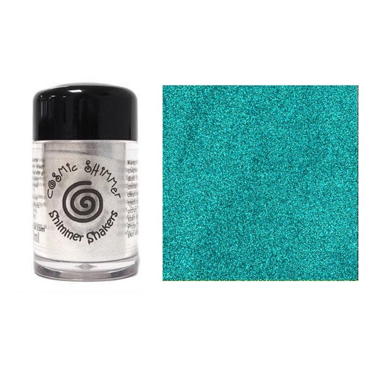 Creative Expressions Cosmic Shimmer Sparkle Shaker 10ml - Peacock Satin