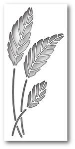 Oak Leaf Oval Collage Craft Die Poppystamp Die
