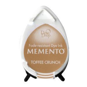 Memento Dew Drop Ink Pad Toffee Crunch