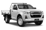 Isuzu D-Max Single Cab Ute White