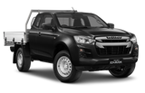 Isuzu D-Max Space Cab Chassis Onyx Black