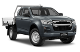 Isuzu D-Max Space Cab Chassis Obsidian Grey