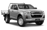 Isuzu D-Max Space Cab Chassis Silver