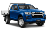 Isuzu D-Max Space Cab Chassis Blue