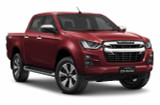 LS Double Cab Isuzu D-Max Ute - Red Spinel