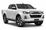 LS Double Cab Isuzu D-Max Ute - Splash White