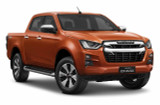 LS Double Cab Isuzu D-Max Ute - Valencia Orange