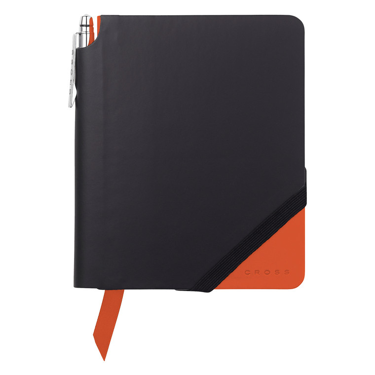 Keep it all together with our collection of Cross Jotzone journals in classic black accented with a splash of colour.