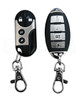 Features:  Two transmitters Sounds Siren & Car Horn Together 2 Auxiliary Channel Ouput Silent Arm/Disarm 2-Stage Disarm ATV™ 2 Remote Transmitters Door Activated Anti-Carjack Ignition Activated Anti-Carjack Transmitter Activated Anti-Carjack Panic Easy Valet Starter Kill Relay & Socket Shock Sensor w/ Pre-warning Port For External Dual Zone Sensors Flashing Light Outputs Keyless Entry Programmable Features