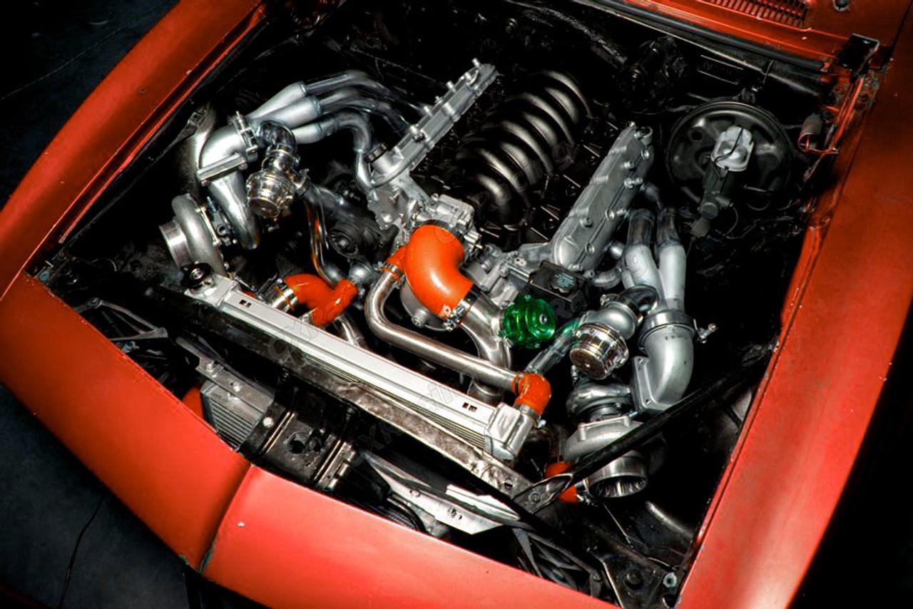 67 69 Camaro Twin Turbo Kit