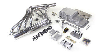 """Be the first in your area to get rid of that boring, tired Optispark or gas guzzling 383 Stroker you guys put in, and enter into the 21st Century with real LS Power! Expected release date 4th quarter 2018. Free Shipping  Includes the following:  Motor Mounts  Oil Pan  Transmission Crossmember/Provision  1-3/4"""" Headers"""