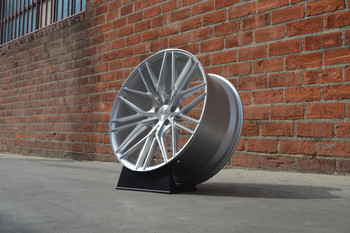 "Sexify your Mercedes-Benz, BMW or Porsche Available Finishes: Gloss black & Silver Machine face. These are hubcentric, and can use the OEM Caps. Pictured here is the lowered Mercedes-Benz CL550  on staggered 22"". TPMS compatible and ride and drives like a dream!"
