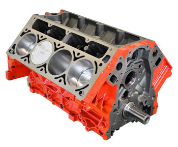 Instead of building your most prized possession with a Junkyard Dropout with medium to high miles, save some time, and start with this High Performance Chevy 408 short block. You already know that the LS iron-block is a super stout platform for high-horsepower engines in their stock form, but this is an super improved version of it. These engines are hand-built, balanced, and blueprinted using top-quality parts. Don't waste time trying to salvage a questionable short block when you can get a fresh mill that is ready for your choice of components to make it your own.  It features 6-bolt mains, aligned and honed main bores, a Manley 4340 Forged Crankshaft, 4.00 in. stroke, Manley Forged 4340 H-Beam Connecting Rods, Manley Forged Aluminum Dish Pistons. Deck Height is 9.240.  Snag this today, and get your boosting on!
