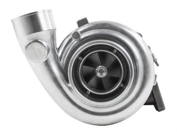 "MAKE HUGE POWER with your LS! Get this today!  T6 GT45 Single Ball Bearing Turbo, with 1.28 A/R Turbine Housing. Single Ball Bearing T6 GT45 1.28 A/R Turbo Charger Ball Bearing on Compressor Side 1.28 A/R Turbine Cast Wheel 5"" Air Inlet and 3.25"" Turbo Outlet 3.5"" 6-Bolts Outle T6 Twins-Scroll Flange to Manifold Comes with Oil Feed and Drain Fittings, and Metal Gaskets Includes the following:  Ball Bearing T6 GT45 1.28 A/R Turbocharger Oil Feed -AN4 Fitting  Oil Drain Flange  Gaskets  Tech Specs: Air Inlet: 5"" Compressed Air Outlet: 3.25"" Bearing: Single Ball Bearing Turbine Housing Flange: Standard T6 Twin-Scroll Exhaust Outlet: 3.5"" 6-bolt Outlet HP Rating: 1200 HP Cooling: Oil Cooled Working Pressure: 30 PSI Compressor: Cast Wheel Turbine: 1.28 A/R Compressor Wheel: 80/108 MM Turbine Wheel: 88.9/77.4 MM"