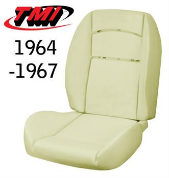 Sport R/II Molded Seat Foam for 64-67 Mustang