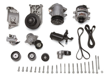Water pump, HB, Alternator, A/C Compressor, P/S Pump, Belt