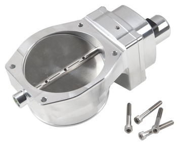 Throttle Body, Drive-By-Wire, Billet Aluminum, Natural, 102mm, Chevy, Each