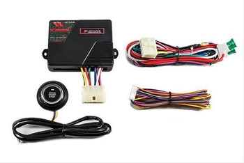 Designed for vehicles with an existing alarm system or factory keyless entry. Includes slim-line OE style start button