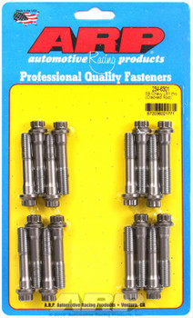 ARP Pro series connecting rod bolts are precision CNC-machined to exacting specifications and designed for optimum reliability. They are heat-treated and threads are rolled to provide up to ten times more fatigue strength. This makes them far superior to standard OEM fasteners in terms of durability, and fully capable of handling the extra stress of high-combustion engines.