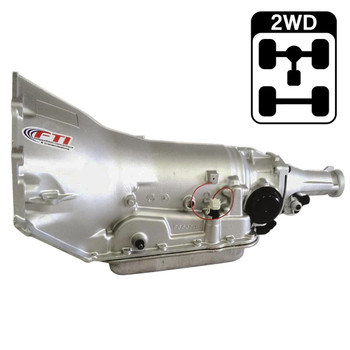 FTI Performance 700R4 Level 2 transmissions are designed for street rodders or cruisers who want mild power, fuel mileage, and reliability. They include a performance-calibrated valve body and governor for maximum durability.