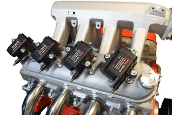 How important are ignition coils to the performance of your vehicle? Well, without them your spark plugs would never receive the high voltage needed to ignite the fuel. Securing them is also important—and that's the function of ICT Billet ignition coil brackets. Made from aerospace-grade aluminum, these brackets offer mounting points for a variety of coil styles. The brackets are available in different configurations and finishes; hardware is also included. Choose the brackets designed for fitment on your make/model.