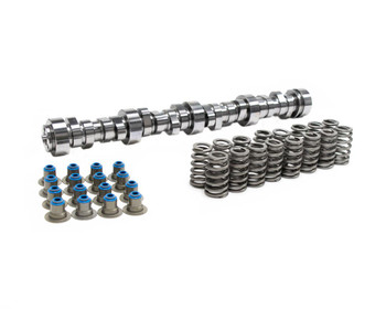 BTR Stage 2 Truck camshaft. Includes valve stem hat seals. More average torque than Stage 1, sacrifices some low end torque and fuel mileage. Largest recommended camshaft with stock 4L60E converter in a 4.8L/5.3L. Timing advanced 2 degrees (113+2 LSA).   Intake Duration at 050 inch Lift:212 Exhaust Duration at 050 inch Lift:218 Duration at 050 inch Lift:212 int./218 exh. Intake Valve Lift with Factory Rocker Arm Ratio:0.553 in. Exhaust Valve Lift with Factory Rocker Arm Ratio:0.553 in. Valve Lift with Factory Rocker Arm Ratio:0.553 int./0.553 exh. Lobe Separation (degrees):113 Camshaft Gear Attachment:3-bolt Computer-Controlled Compatible:Yes Lifters Included:No Valve Springs Included:Yes Valve Spring Style:Beehive Outside Diameter of Outer Spring (in):1.290 in.
