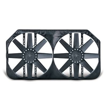 Dual Electric Fans