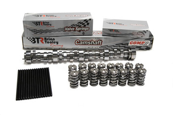 BTR Stage 2 LS1/LS2 camshaft. Includes steel retainers and black valve stem seals. Timing advanced 2 degrees (113+2 LSA).