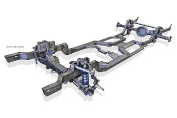 Complete Chassis Kit, Full Chassis, SPEC, Coilover Suspension, IFS, Ford 9 in. Axle, Chevy, Pontiac, Camaro, Firebird, Kit