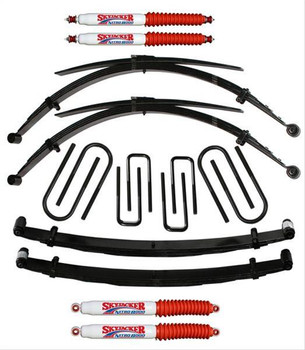 Suspension Lift, Leaf Springs, Shocks/Struts, Ford, Kit