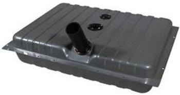 Fuel Tank, Sniper EFI, 24 Gallons Capacity, Steel, Silver Powdercoated, Baffled Sump, Chevy, Kit